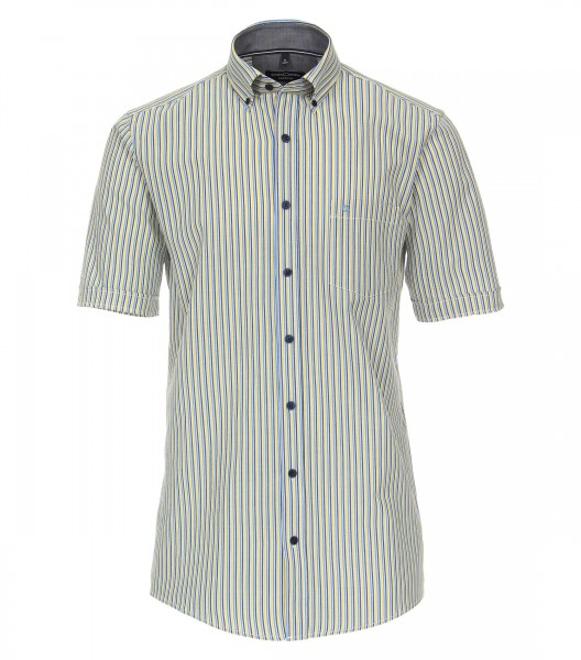 Stripe Leisure Short Sleeve Shirt