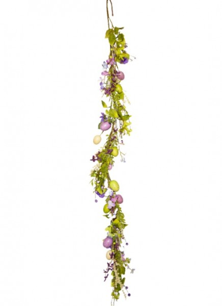 Lilac Easter Garland 5 Foot