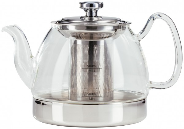 Hob Top Glass Teapot .9L TC331