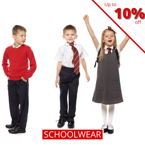 Schoolwear - Up to 10% off