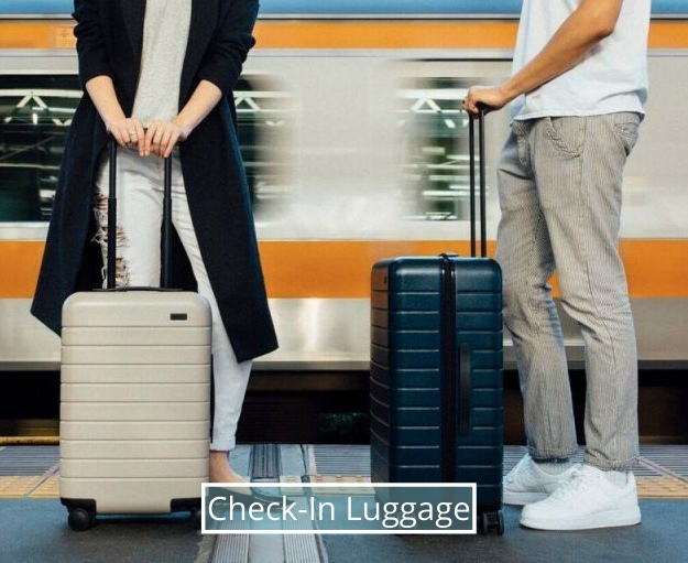 Upright/Spinner Luggage