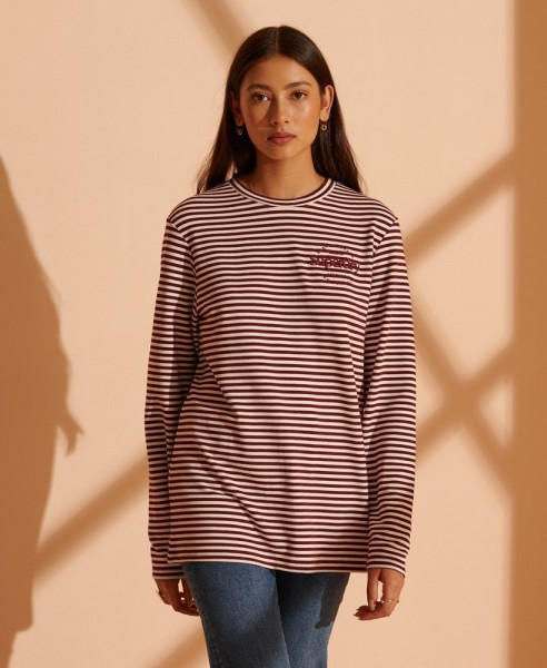 Stripe Graphic NYC Top
