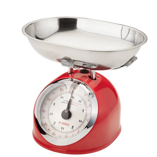 Traditional Scale - Red