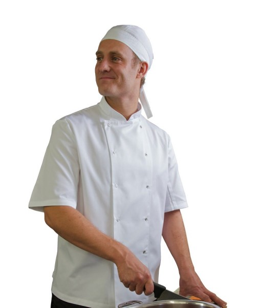 AFD White Chef Jacket Small