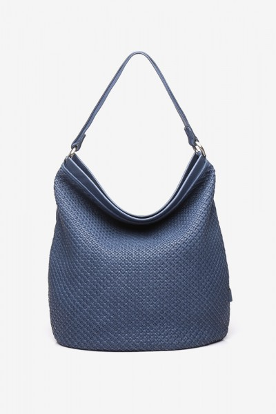 Braided Leather Hobo