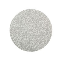 Monsoon Filigree Silver Set of 4 Round Placemats