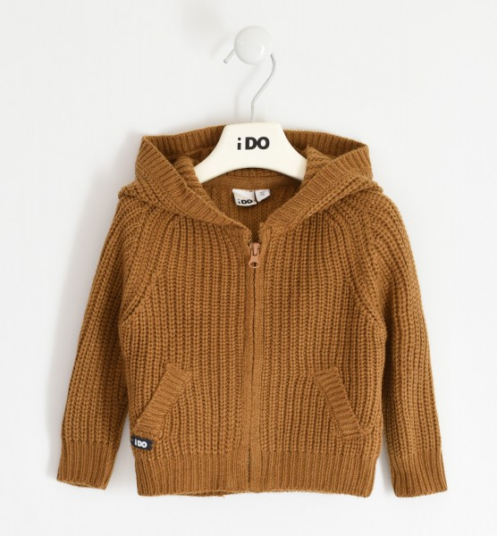 Tricot Full Zip Cardigan