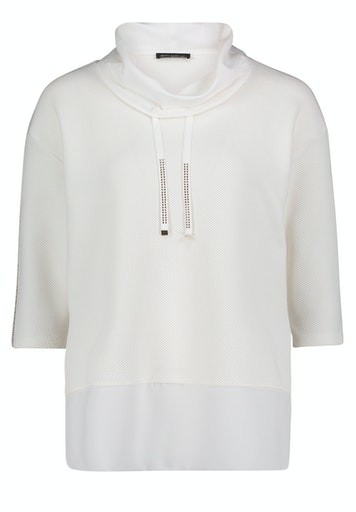 3/4 Sleeve Plain Sweatshirt