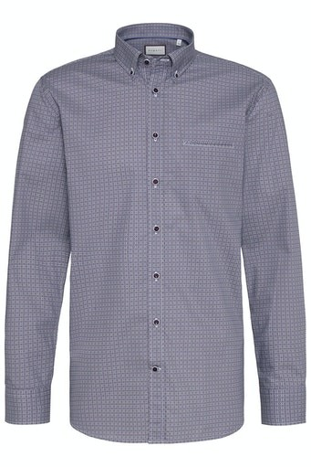Button Down Print Shirt