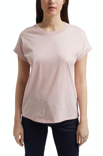 Pointelle Short Sleeve T-shirt