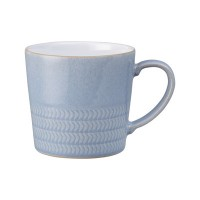 Natural Denim Textured Large Mug