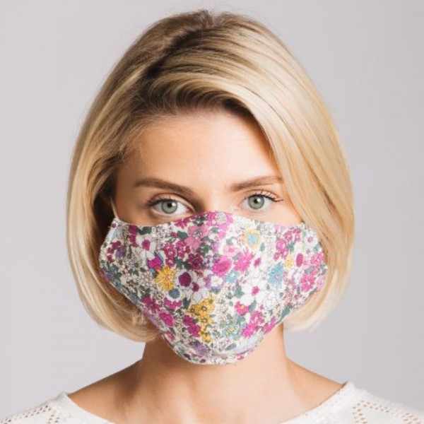 Face Mask Pink Retro