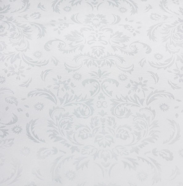 "Peggy Wilkins Caroline Damask Tablecloth 53""x88"" - White"