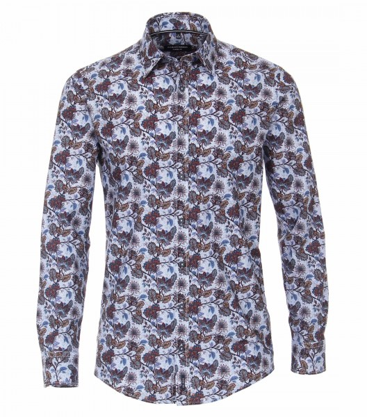 Print Button Down Casual Shirt