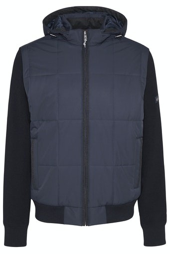 Full Zip Hybrid Jacket