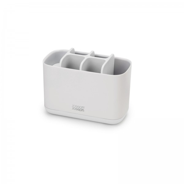 Easystore Large White Tootbrush Caddy