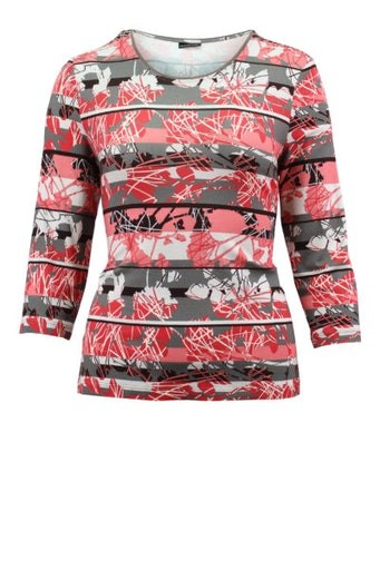 All Over Print 3/4 Sleeve T-Shirt