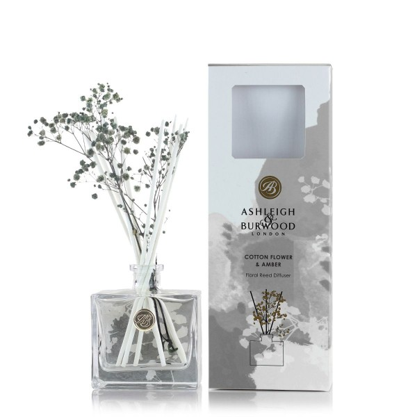 Reed Diffuser - Cotton Flower & Amber