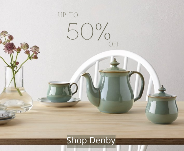 Up to 50% off - Shop Denby