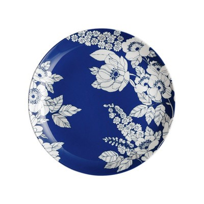 Monsoon Fleur Medium Blue Plate