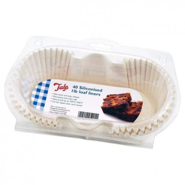 1lb Loaf Tin Liners - Pack Of 40