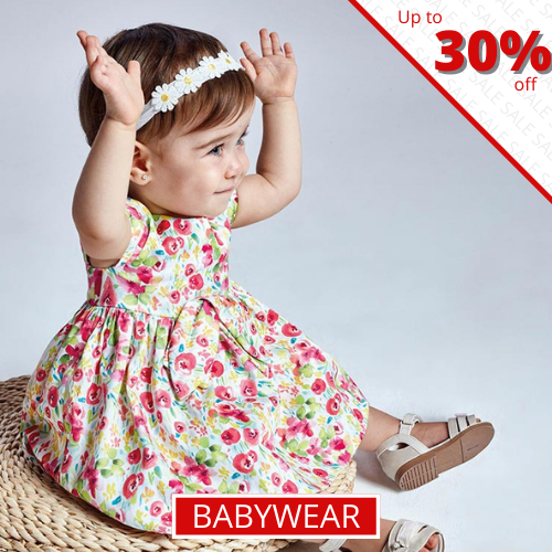 Babywear - Up to 30% off